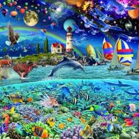 24000 piece jigsaw puzzle - Life
