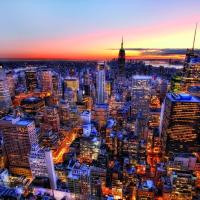 Manhattan Sunset Puzzle
