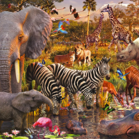 Ravensburger African Animals Jigsaw Puzzle
