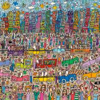 5000 Piece Puzzle James Rizzi_ City