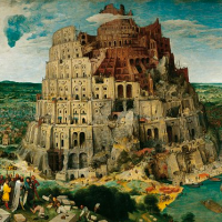 5000 Piece jigsaw Puzzle Ravensburger The Tower of Babel