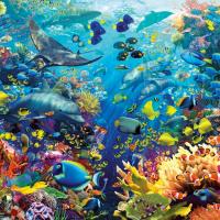 9000 Piece Puzzle-Underwater Paradise