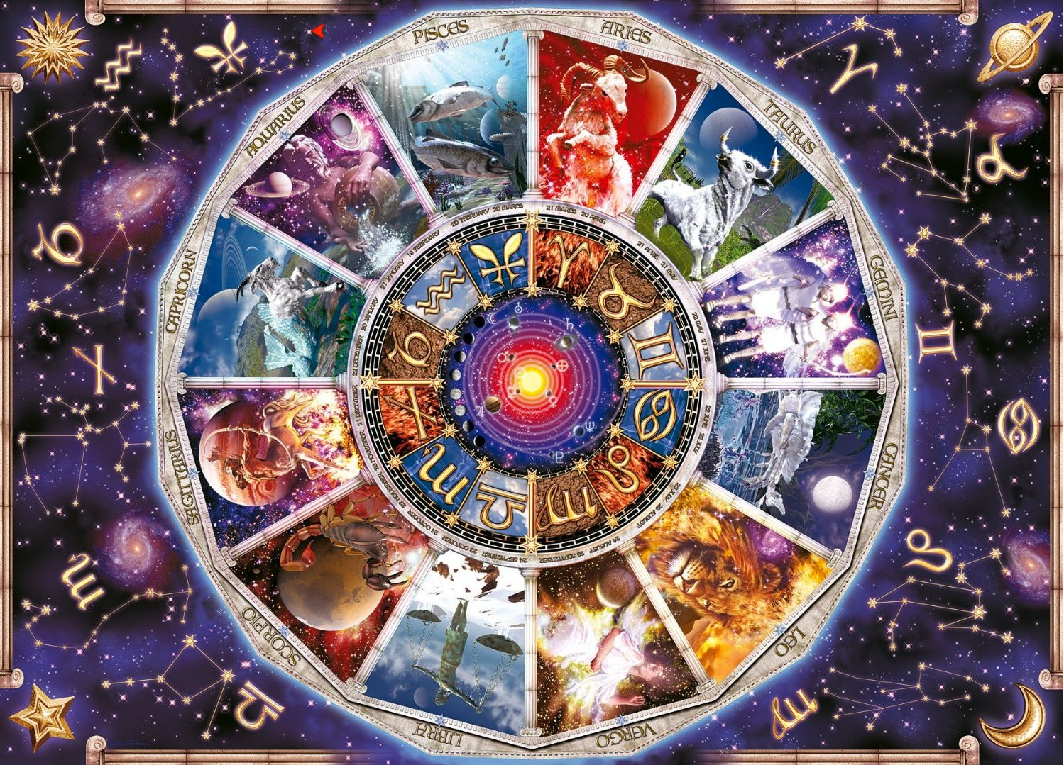 9000 piece Jigsaw Puzzle Ravensburger astrology