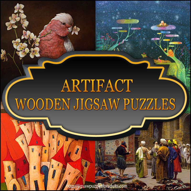Artifact Wooden Jigsaw Puzzles