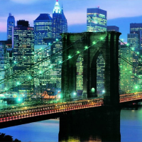 Brooklyn Bridge New York Pieces 1000 panoramic jigsaw puzzles