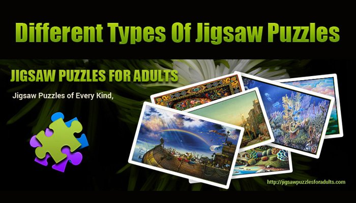 Different Types Of Jigsaw Puzzles