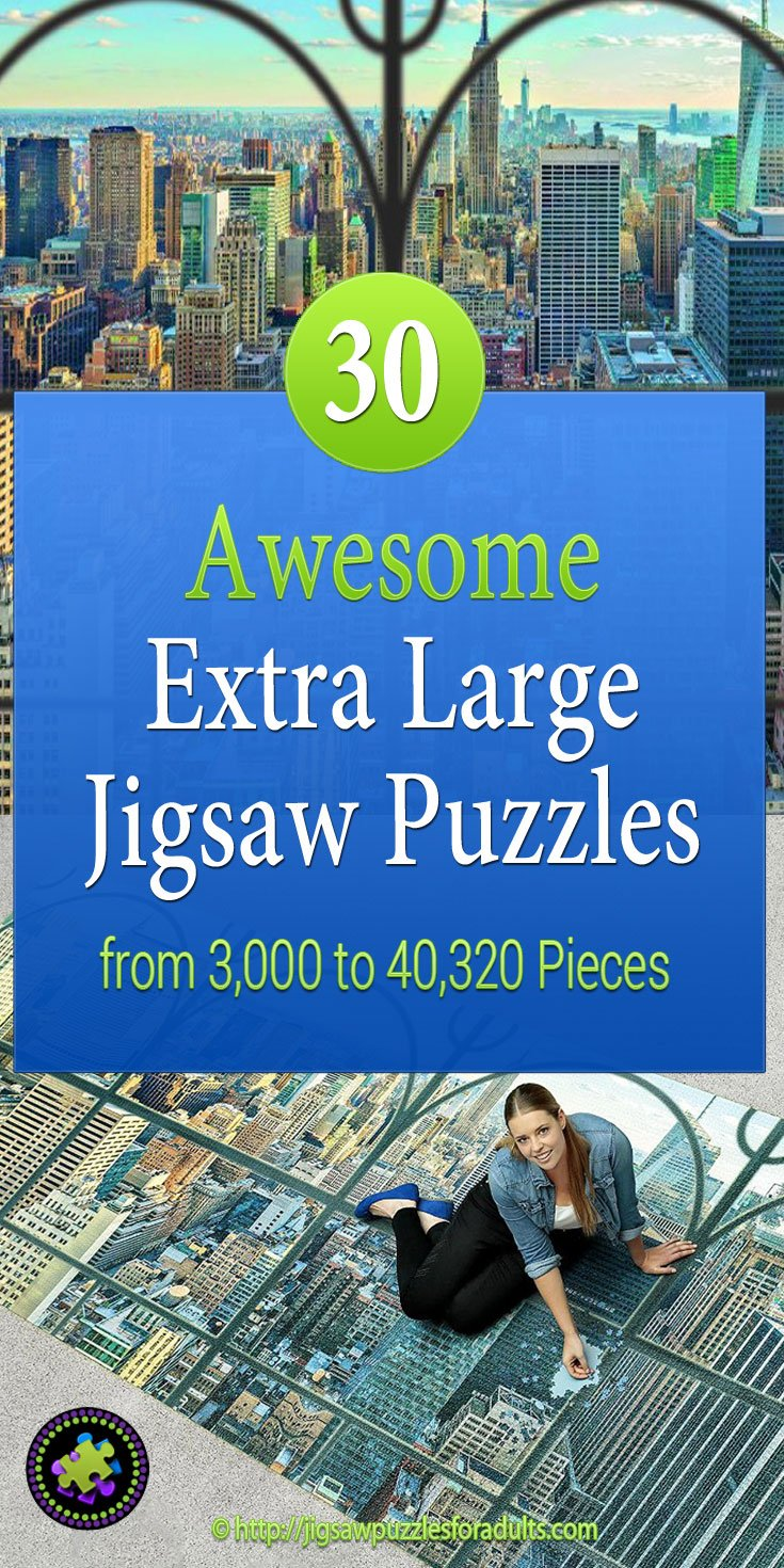 Extra Large Jigsaw Puzzles