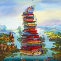 Isabelle Plante La Connaissance Wooden Jigsaw Puzzle - Artifact