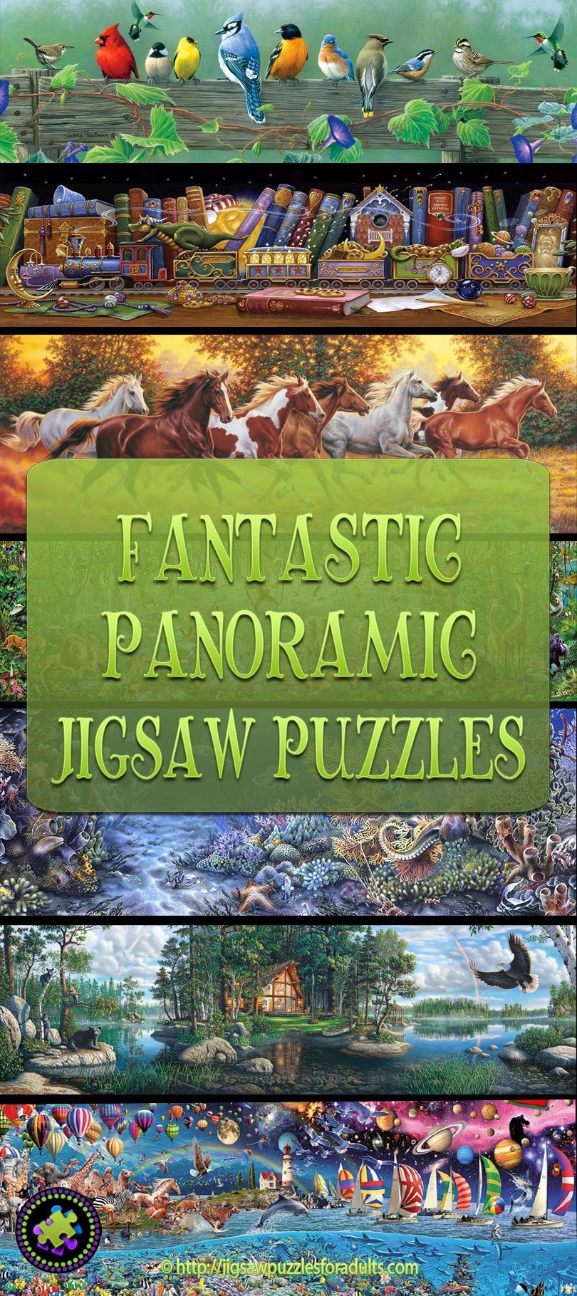 Panoramic Jigsaw Puzzles