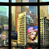 Times Square From My Window 3000 Piece Panorama Puzzle