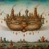 Tyukanov Cheshire Cat Wooden Jigsaw Puzzle