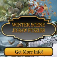 Winter Scene Jigsaw Puzzles
