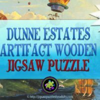 Dunne Estates Artifact Wooden Jigsaw Puzzle