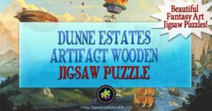 Dunne Estates Artifact Wooden Jigsaw Puzzle | Awesome Art By Ton Kidd