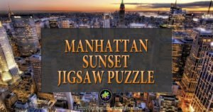 Manhattan Sunset Puzzle