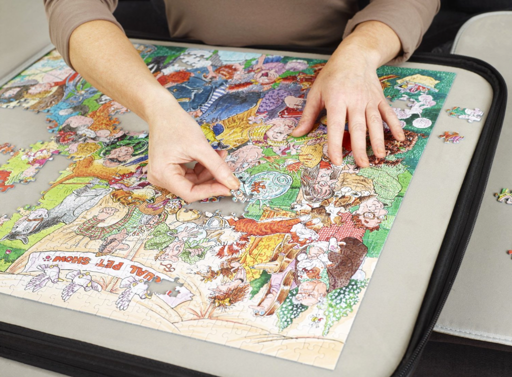 PortaPuzzle Deluxe 1000 very close look