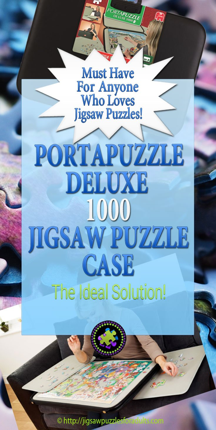 Portapuzzle Deluxe 1000 Jigsaw Puzzle case