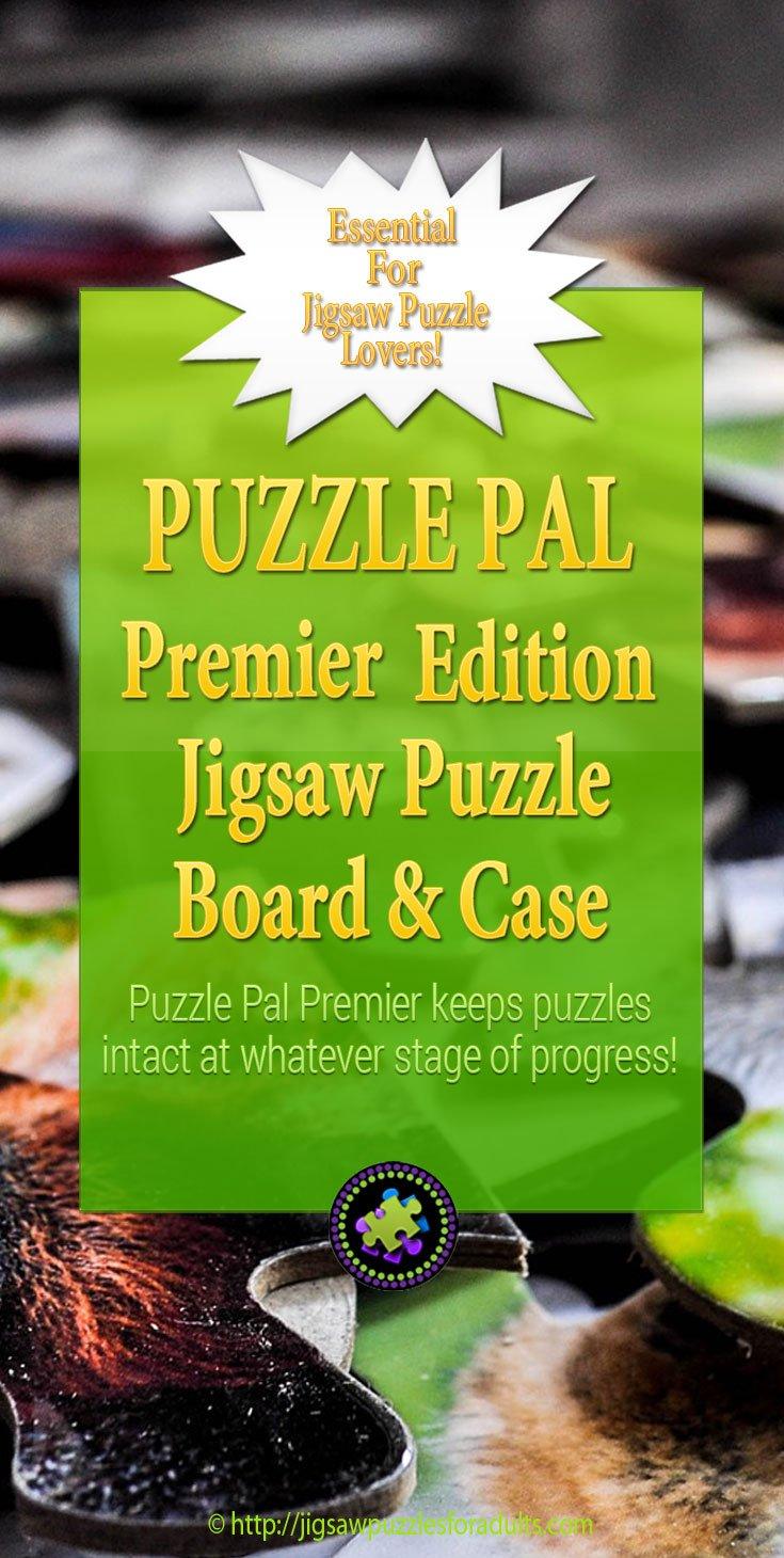 Puzzle Pal Premier Edition board andcase