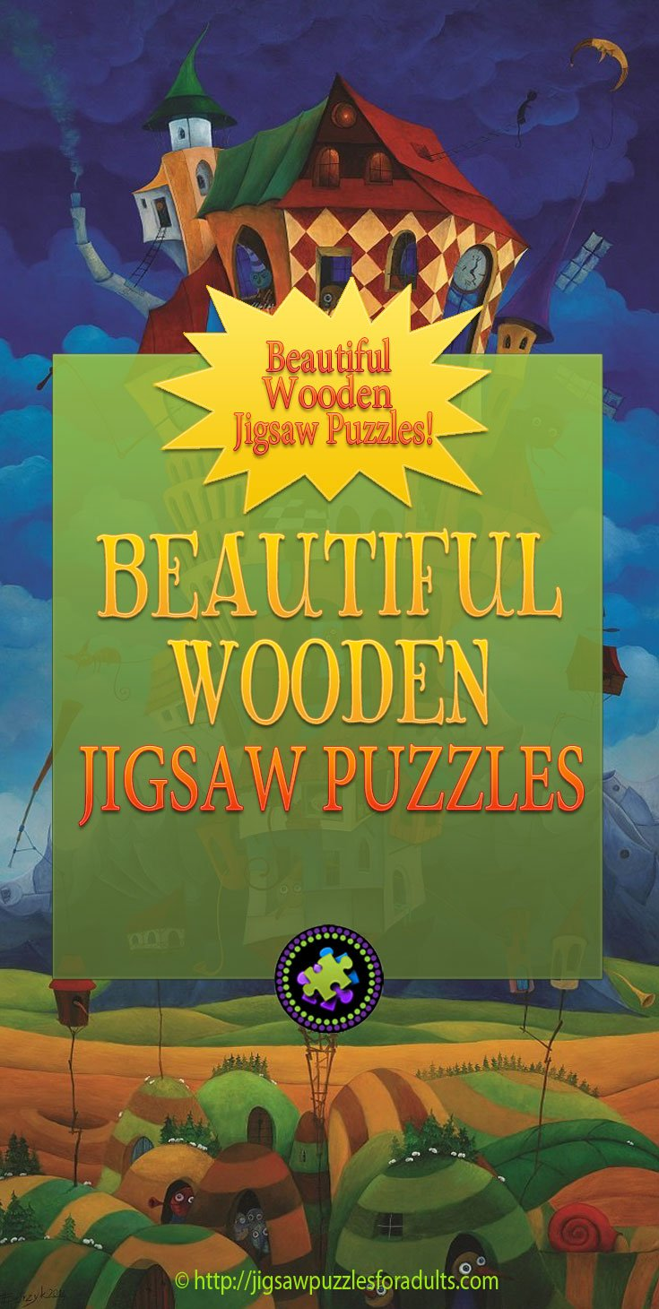 Wooden Jigsaw Puzzles