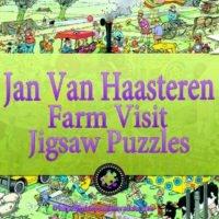 Jan Van Haasteren Farm Visit jigsaw puzzle