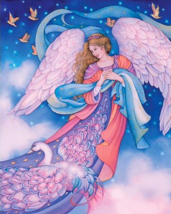 Angel-Jigsaw-Puzzles-Angel-of birds