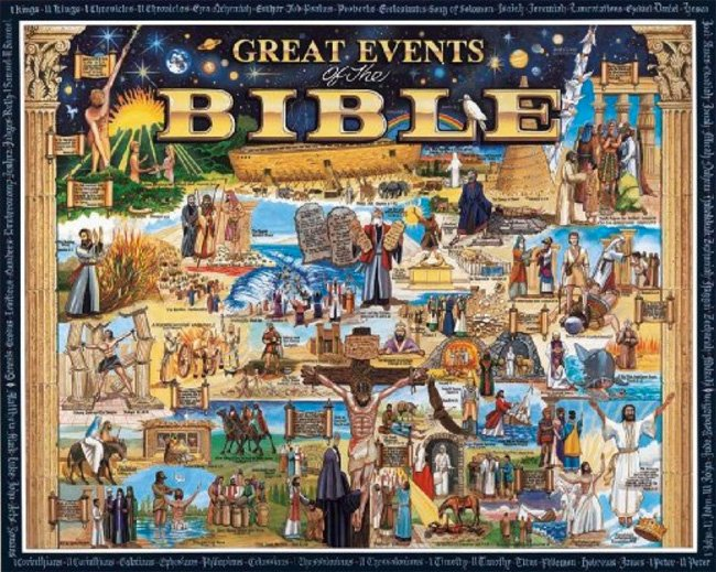 Christian Jigsaw Puzzles- Great Events of the Bible