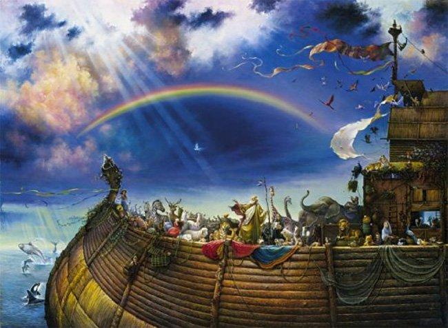 Christian Jigsaw Puzzles - Noahs Ark