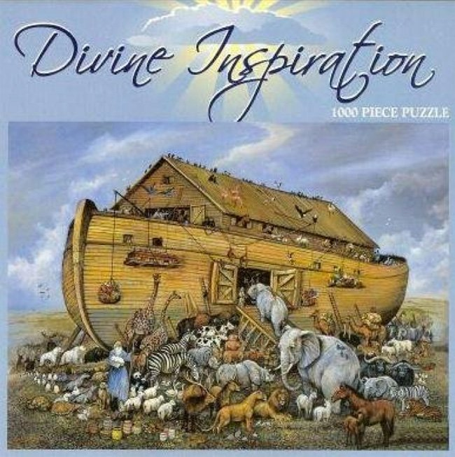 Divine Inspiation Noahs Ark-1000 Piece Puzzle