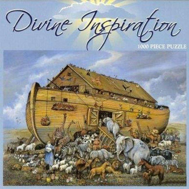 Divine Inspiation Noahs Ark-1000 Piece Puzzle