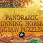 Panoramic Running Horses Jigsaw Puzzle