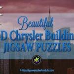 3D Chrysler Building Puzzle – Awe-Inspiring 3D Replica Landmark