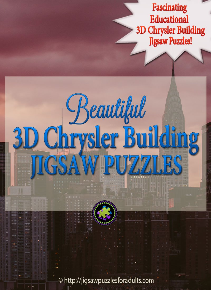 3D Chrysler Building Puzzle