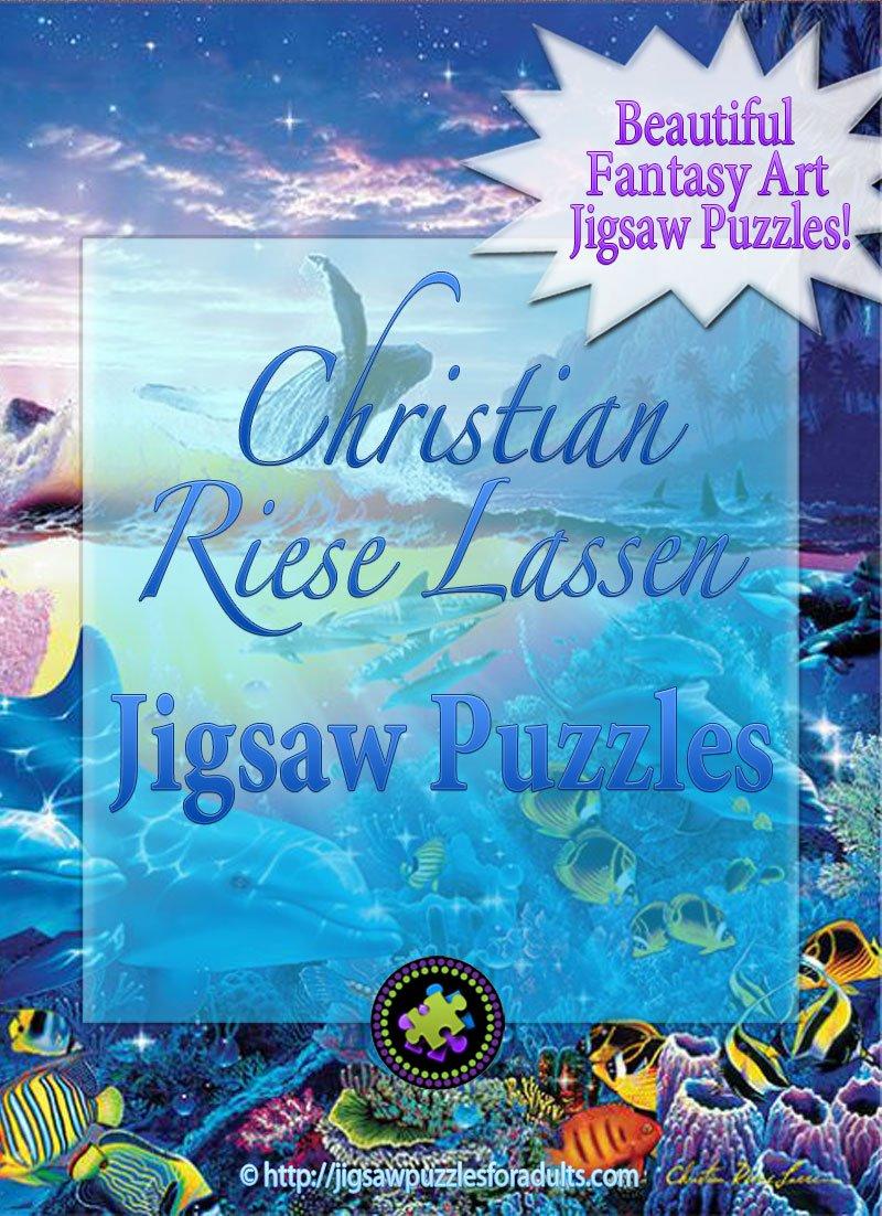 Christian Riese Lassen Jigsaw Puzzles