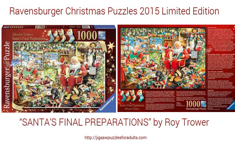 Ravensburger Christmas Puzzles 2015 Limited Edition