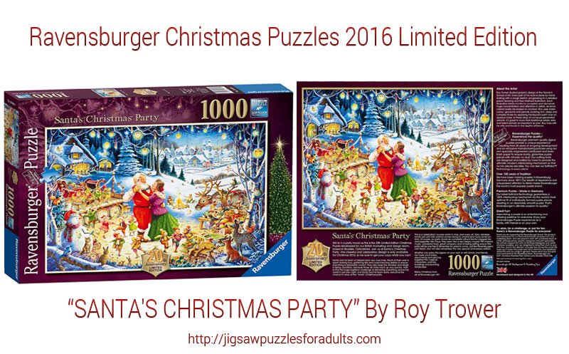Ravensburger Christmas Puzzles 2016 Limited Edition