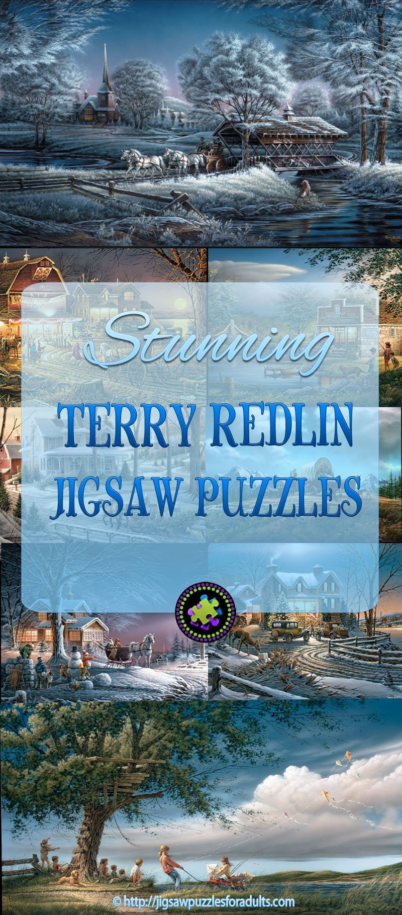Terry Redlin Puzzles p