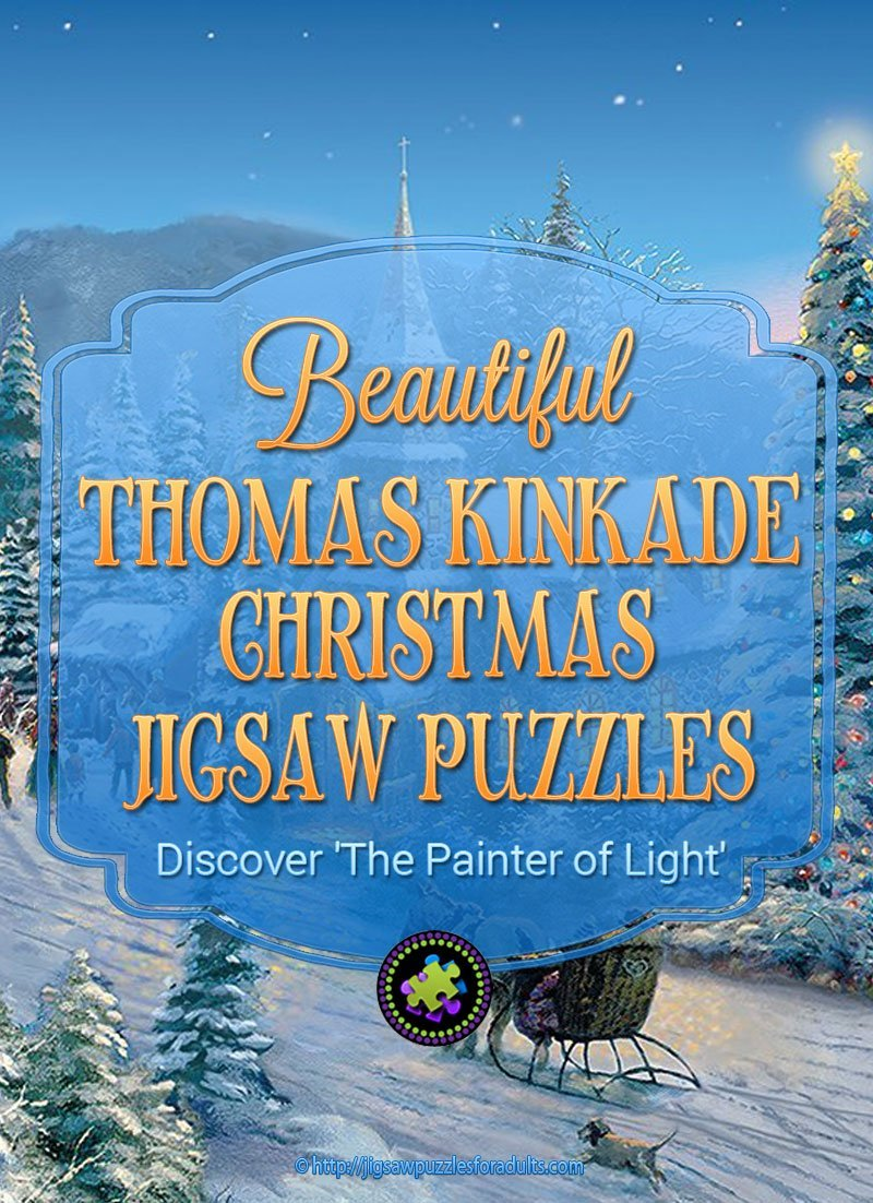 Thomas Kinkade Christmas Puzzles | Discover The Painter of Light