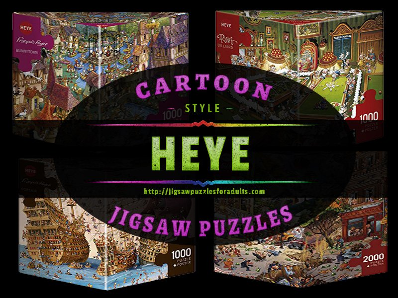 Heye Cartoon Jigsaw Puzzles