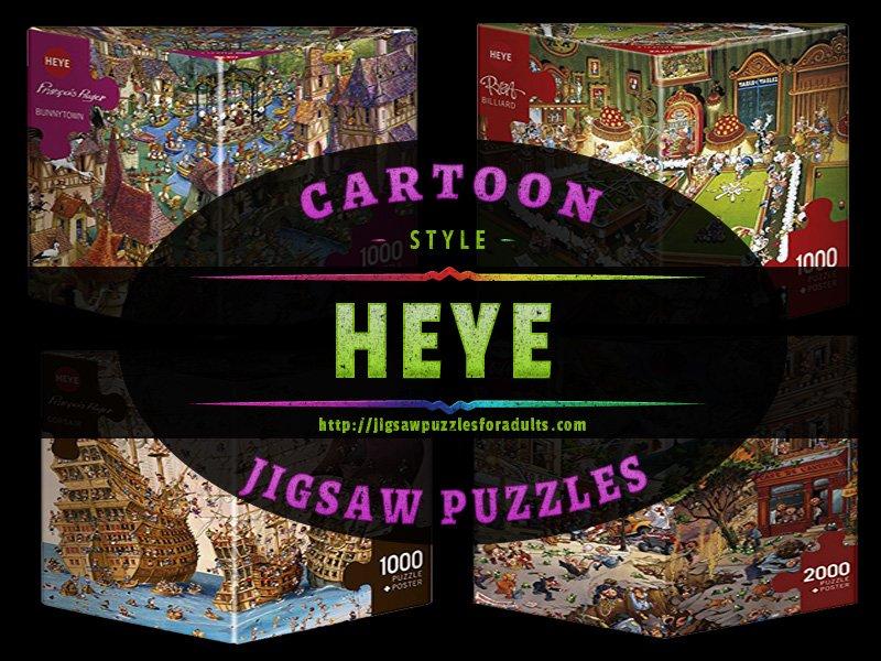 Heye Cartoon Jigsaw Puzzles