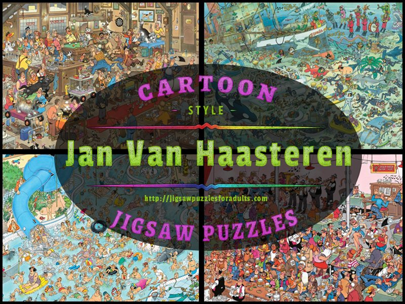 Jan Van Haastern Cartoon Jigsaw Puzzles