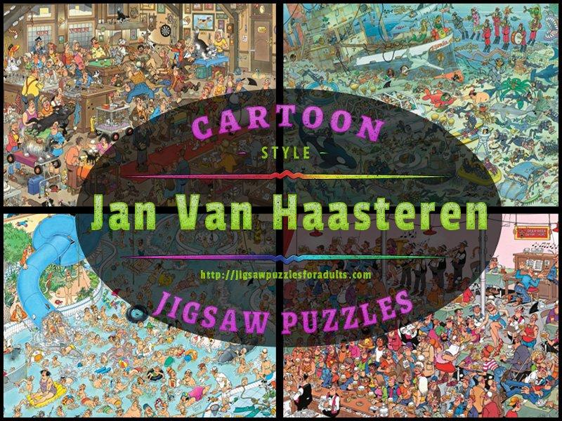 Jan Van Haastern Cartoon Jigsaw Puzzles