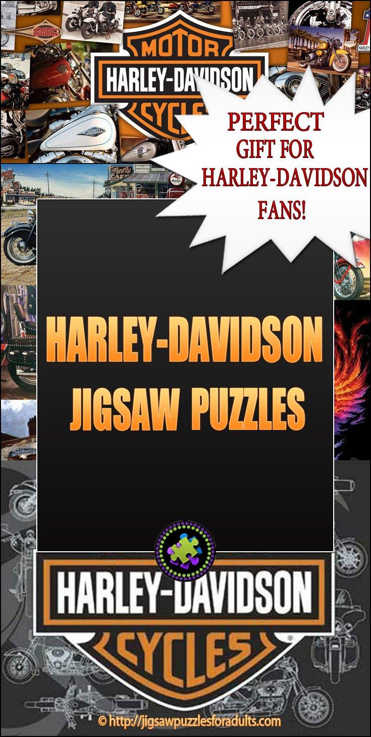 Harley Davidson Puzzles