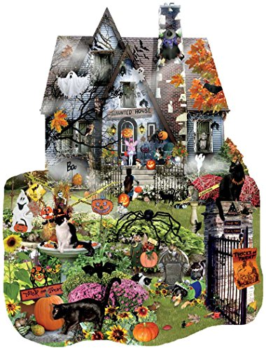 Halloween Jigsaw Puzzles For Adults  Bewitching Spook ~ 004814_Large Halloween Doormats