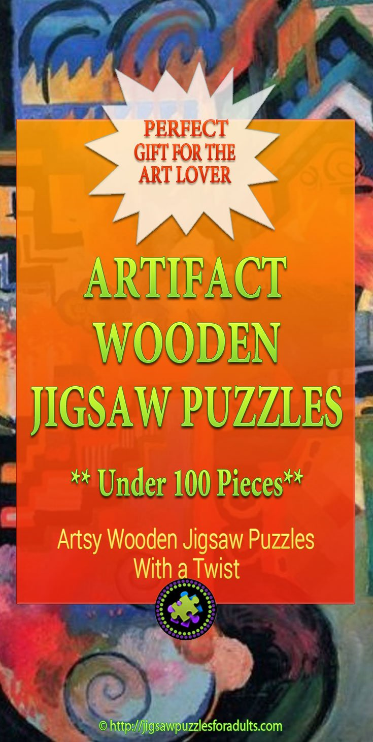 Artifact Wooden Jigsaw Puzzles Under 100 pieces