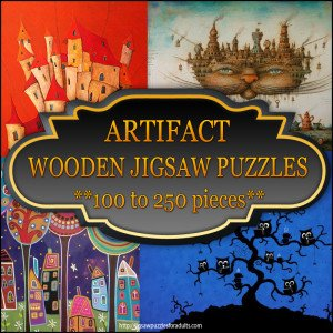 Artifact Wooden Jigsaw Puzzles 100 to 250 pieces