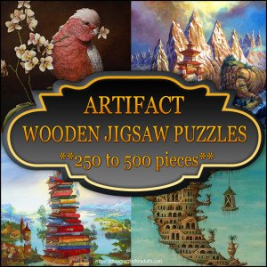 Artifact Wooden Jigsaw Puzzles 250 to 500 pieces
