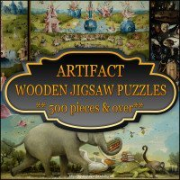 Artifact Wooden Jigsaw Puzzles 500 pieces and over