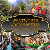 Wentworth Wooden Puzzles 100 to 500 pieces