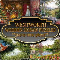 Wentworth Wooden Puzzles 500 to 1000 pieces