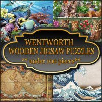 Wentworth Wooden puzzles under 100 pieces